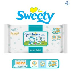 Sweety Baby Wipes Perfumed - 80+4 Sheet