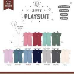 Little Palmerhaus Zippy Playsuit Baju Harian Anak...