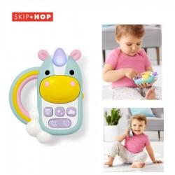 Skip Hop Zoo Unicorn Phone Mainan Sensori Anak