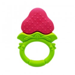Ange Strawberry Ring Teether