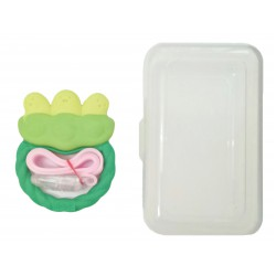 Ange Bean Teether with Case