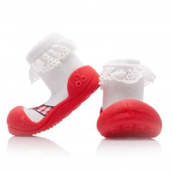 Attipas Happy Walk - Ballet Red