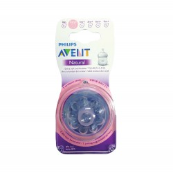 Philips Avent NEW Natural Skin Soft Nipple...