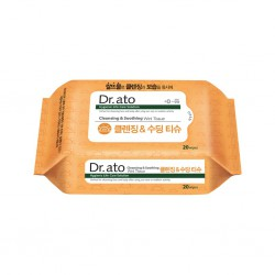 Dr Ato Cleansing and Soothing Wet Tissue - 20...