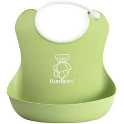 Baby BJorn Soft Bib - Green