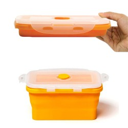 Baby Safe Collapsible Food Container 540ml -...