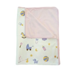 Babybee Airy Blanket - Toys Pink