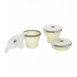 Babymoov Silicone Container 8 Oz/240 ml - 3 Pcs