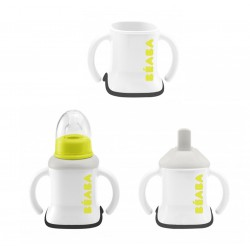 Beaba Evoluclip 3 In 1 Training Cup 4m+ - Neon