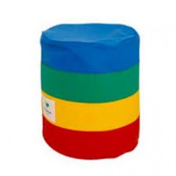 Foldaway Bean Bag Stool Rainbow