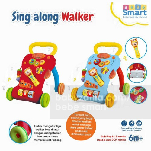 Bebe Smart Sing Along Walker