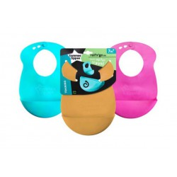 Tommee Tippee Roll and Go Bib - Tersedia 3...