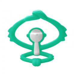 Mombella Hugging Monkey Teether - Blue