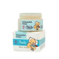 Buds Soothing Organics Calming Rub Cream - 30ml