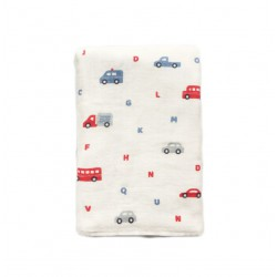 Little Palmerhaus Tottori Baby Towel - Cars
