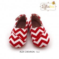 Lullabee Alex - Chevron Red