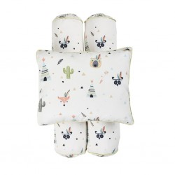 Cottonseeds Pillow Bolster Set - Ten Little Indian