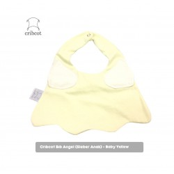 Cribcot Baby Angel Bib Bayi - Baby Yellow