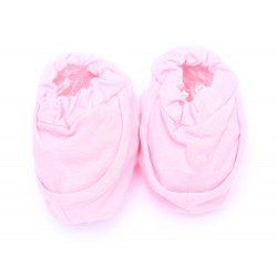 Cribcot Booties Plain - Baby Pink