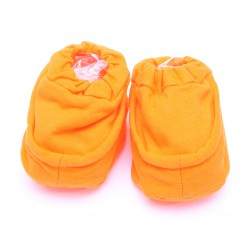Cribcot Booties Plain - Orange