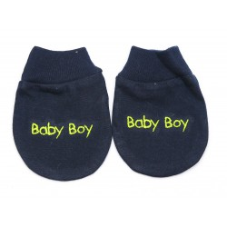 Cribcot Sarung Tangan Baby Boy - Navy Blue Light...