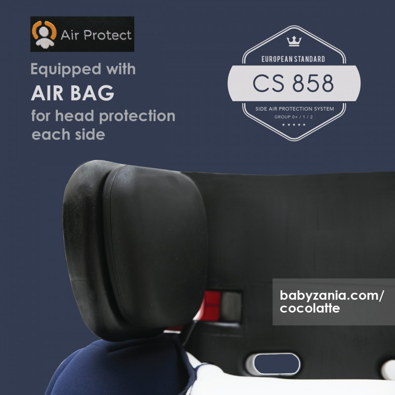 Jual Murah Cocolatte Car Seat Cl 858 With Air Protection