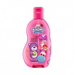 Kodomo Bodywash With Bubble Stick Cherry - 200ml
