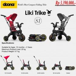 Doona Liki Trike S1 5-in-1 Folded Tricycle Sepeda...