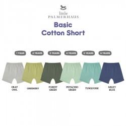 Little Palmerhaus Basic Cotton Short Celana...