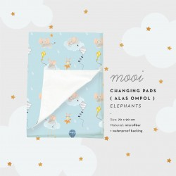 Mooi Waterproof Changing Pads Perlak Anti Ompol -...