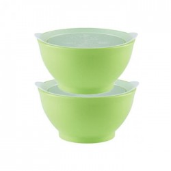 eLIpse Kids Spill Proof Bowl 4M+ Stage 1  - Green
