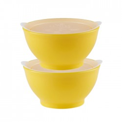 eLIpse Kids Spill Proof Bowl 4M+ Stage 1  - Yellow
