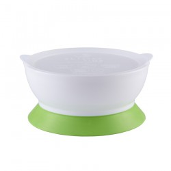 eLIpse Kids Spill Proof Bowl 9M+ Stage 2  - Green