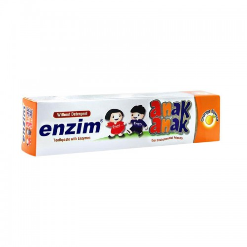 Enzim Children Toothpaste Orange Flavour - 50ml