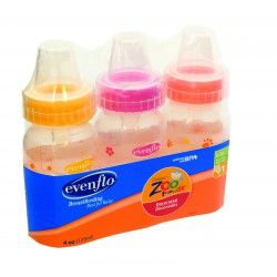 Evenflo Classic Zoo Friends Bottle 3 Pack - 4 oz/...