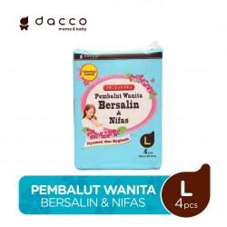 Dacco Pembalut Wanita Bersalin & Nifas size L...