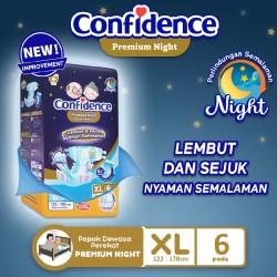 Confidence Popok Dewasa Premium Night - XL 6