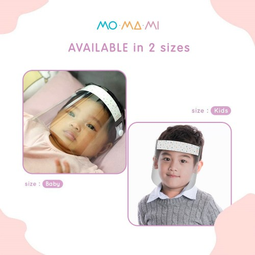 Momami Easy Breezy Face Shield Pelindung Wajah - Baby