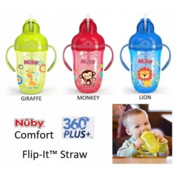 Nuby PP Comfort Flip It with Handle - Tersedia...