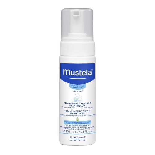 Mustela Foam Shampoo for Newborn - 150ml