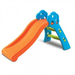 Grow'n Up Qwikfold Fun Slide - Blue Orange