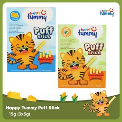 Happy Tummy Puff Stick Snack Bayi / Anak 15 gr -...