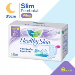 Laurier Healthy Skin Night Wing Pembalut Wanita...