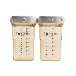 Hegen PCTO Breast Milk Storage PPSU 240ml - 2 Pack