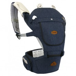 i-Angel Hello Hipseat Carrier - Melange Navy