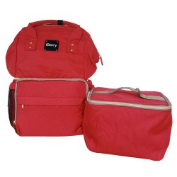 iBerry London Plus with Cooler Bag - Red