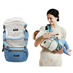 iBerry Windsor 9 in 1 Baby Carrier - Sky Blue