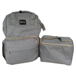 iBerry London Plus with Cooler Bag - Grey