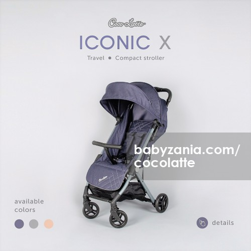 Cocolatte Stroller CL LT 707 Iconic X - Navy
