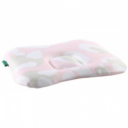 Comfi Newborn Pillow - Leopard Pink
